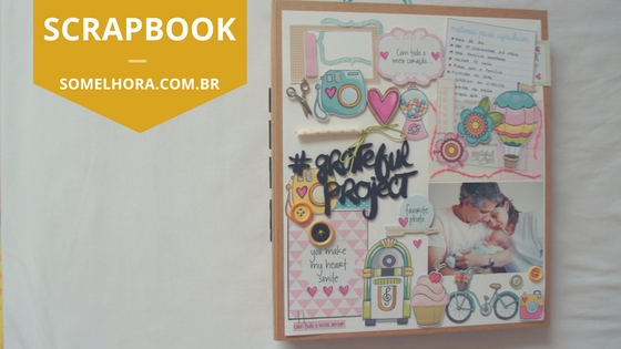 Grateful Project – Scrap para agradecer