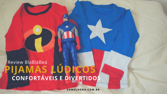 Pijamas divertidos e lúdicos (Review BlaBláBeá)