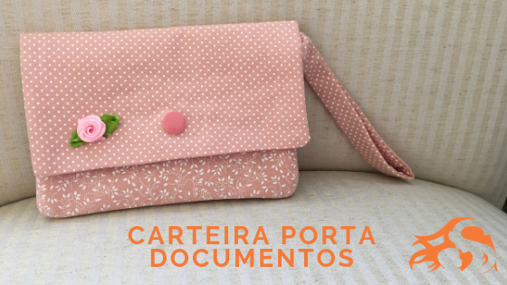DIY Carteira porta documentos [presente para professora!]