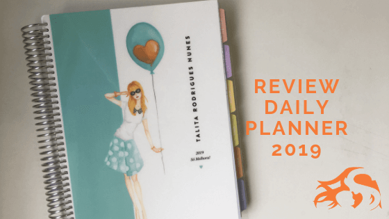 Daily Planner 2019 – Paperview: meu planner 2019 {review}
